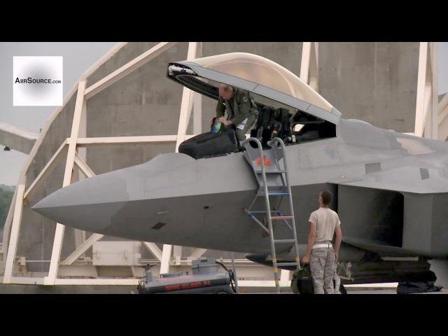 F 22 Raptors at Kadena Air Base Okinawa Japan 2013