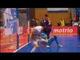 L  Santiago FC Barcelona 1- 4 Highlights Futsal J27 04 04 2015