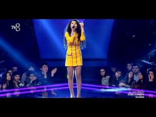 Semra Rehimli - Sari Gelin 21 Ocak 2015 (O Ses Turkiye - Bire Bir)   vk.com/mehelle