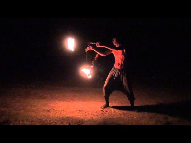 Dima Holmsky - 18yrs old Poi Master combo tricks (Skazochniy Gorod Festival 24 August 2011 )