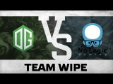 Team wipe by OG vs NLG @DreamLeague Season 4