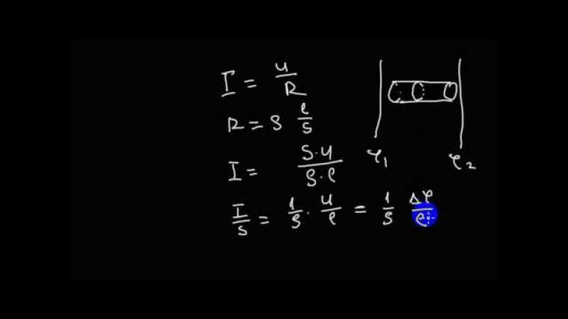Электродинамика | закон Ома в интегральной форме