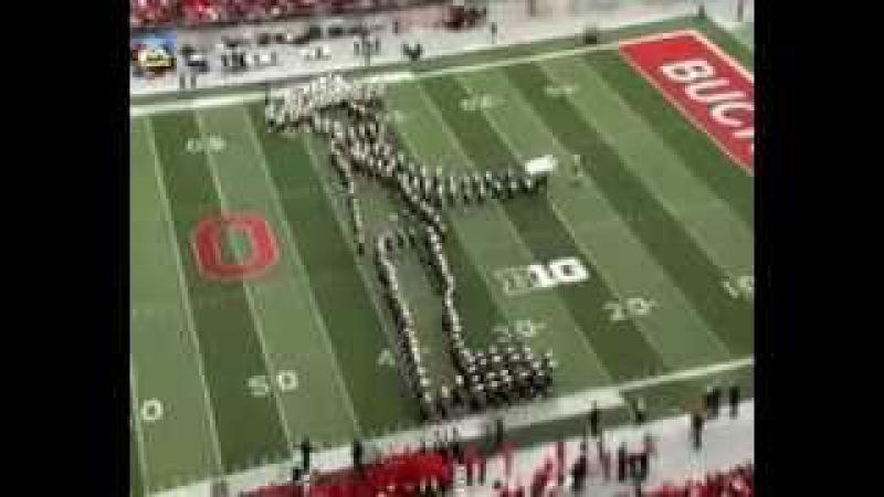 Лунная походка от оркестра Видео супер The Ohio State University Moonwalk