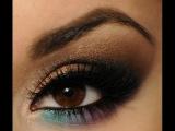 Как красиво красить глаза в арабском стиле