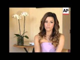 Eva Longoria talks about her Cannes wardrobe, childhood and her hopes to be a mother