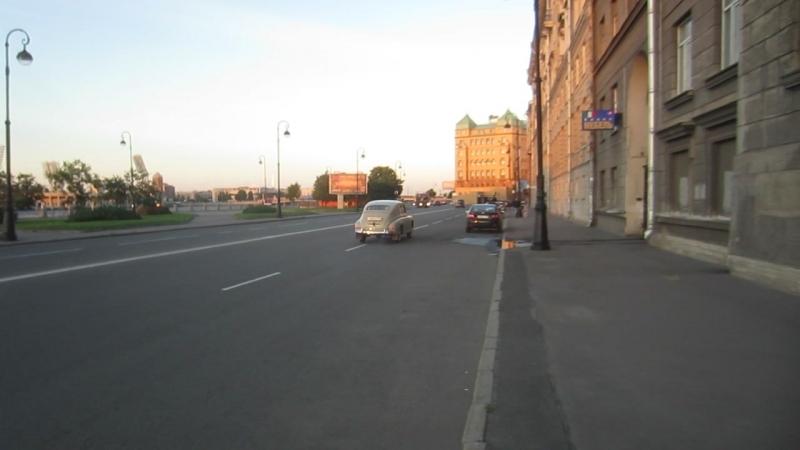 ГАЗ-М20В на набережной Макарова » Freewka.com - Смотреть онлайн в хорощем качестве