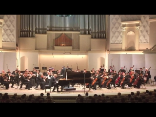27.05.15 Tchaikovsky Concert Hall: Yan Lisetsky(piano), Svetlanov Symphony Orchestra,Daniel Raiskin-conductor