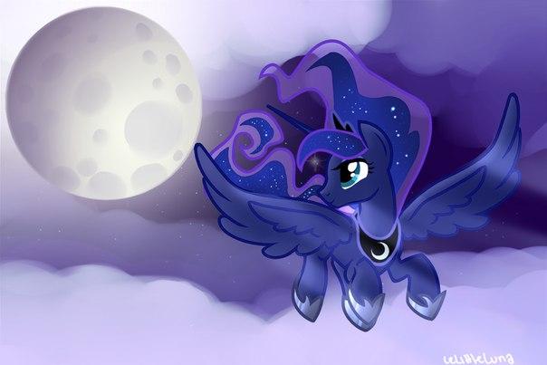 Принцесса Луна Одевалка