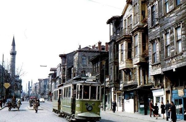 Стамбул в 50-ые годы. Турецкая республика.