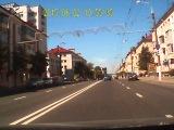 ДТП. Витебск. Лето 2015. (УАЗ идет на таран). Запись с видео регистратора.