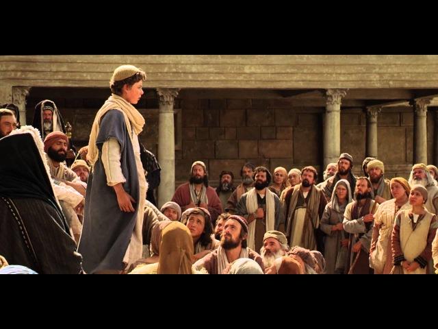 Юный Иисус проповедует в храме