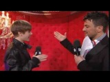 Justin Bieber awkward interview with Peter Andre