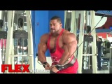 Roelly 'The Beast' Winklaar Chest Photoshoot