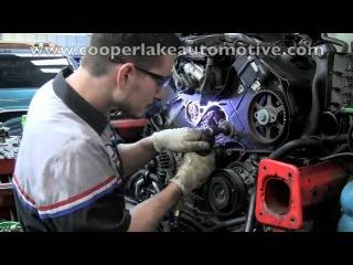 Audi A4 B5 2.8V6 Замена ремня ГРМ