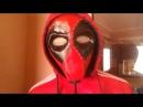 Как сделать маску из бумаги Дедпула. Deadpool Mask Tutorial