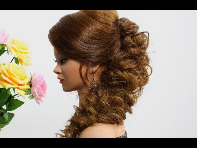 Фото вечерних причесок для длинные волосы