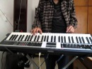 Korg X50 - Burn - Deep Purple - keyboard solo