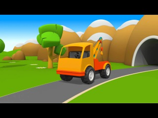 Eğitici çizgi film - Meraklı kamyon Leo'nun kurtarma ekibi - Türkçe izle