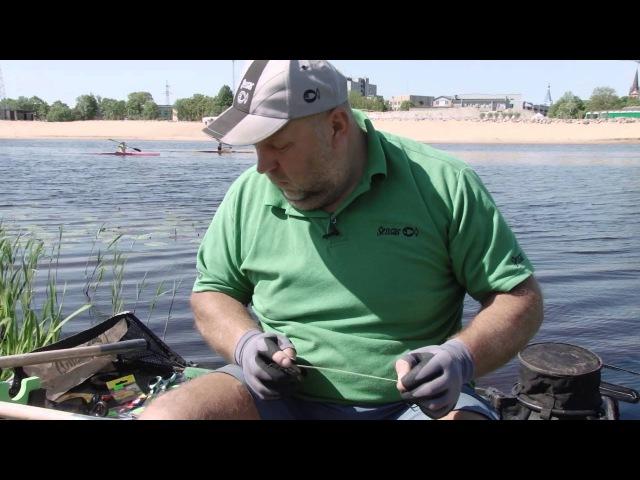На рыбалку с Нормундом оснастка фидера 1