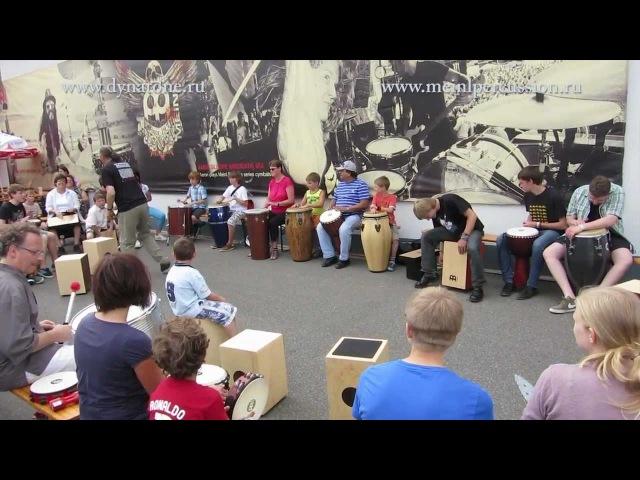 Percussion Circle - Meinl Drum Festival 2012 Демонстрация перкуссии