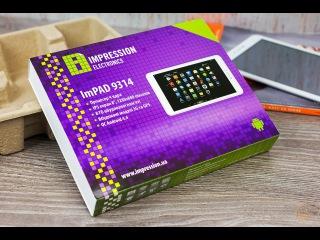 Обзор Планшета 8'' Impression ImPAD 9314 с 3G модулем