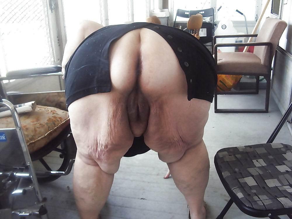 бабки большие попы порно фото