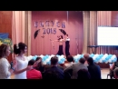 Танець на випускний 2015 ЖМК. Щегельський Валентин і Кантур Катя. Квікстеп.