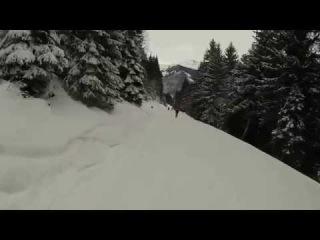 b11-21 bad gastein skiboarding