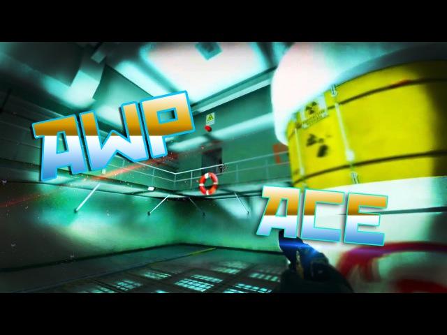 AWP ACE CS:GO | de_nuke