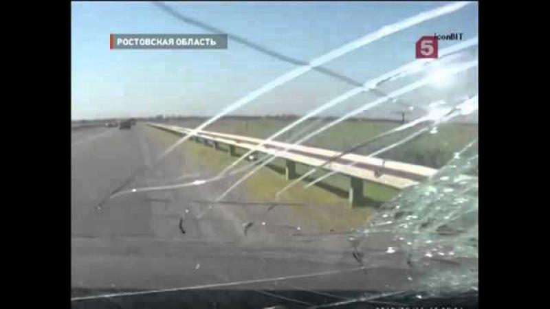 ДТП - Выпавший из грузовика кирпич убил девушку