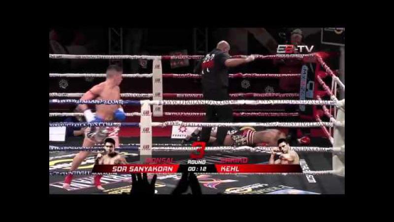 Топовая нарезка жёстких нокаутов в тайском боксе