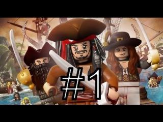 [PS3] LEGO Pirates Of The Caribbean. Пираты карибского моря. Прохождение #1 «Побег»