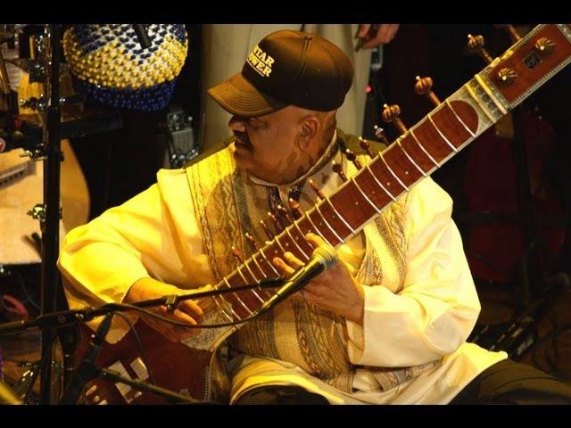 East Meets West fusion by Ashwin Batish Kuumbwa Jazz Casbah Shuffle Sitar in Raga Bhairav