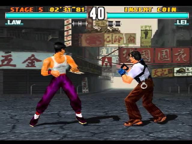 Tekken 3 - Law Gameplay PSX 1.13