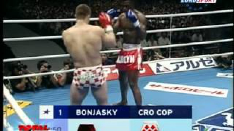 M CroCop vs R Bonjasky Мирко Крокоп vs Реми Боньяски