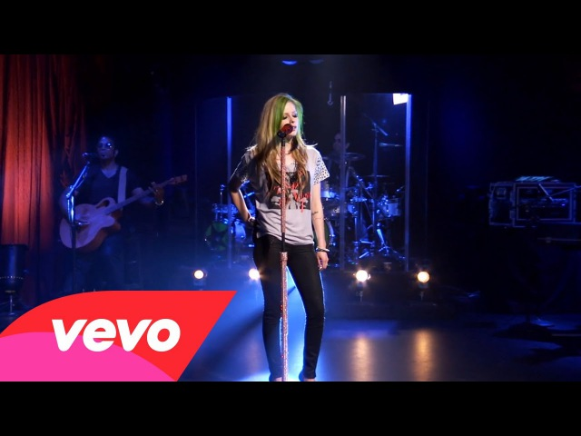 Avril Lavigne - Im With You (AOL Sessions)
