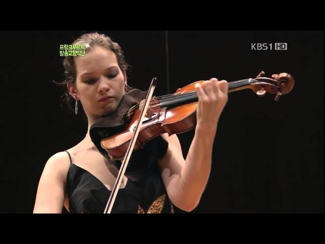 Mendelssohn Violin Concerto E Minor OP.64 (Full Length) : Hilary Hahn FRSO