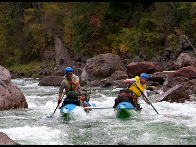Сплав по дикой реке Улуг О Западные Саяны Водный поход