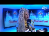 Lady Gaga Radio Interview Backstage At The Jingle Bell Ball 2013
