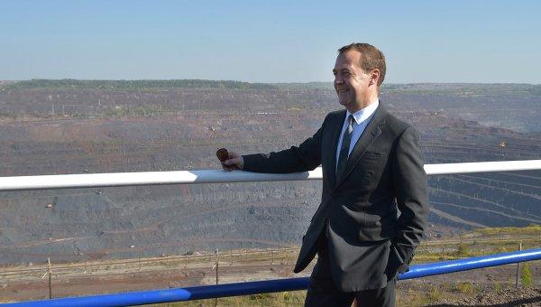 Дмитрий Анатольевич Медведев в нашем городе