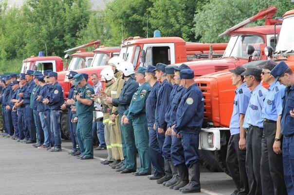 +++ Первые профессиональные огнеборцы появились в Курске в 1799 году.