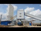 Бетонный завод МЕКА на строительстве стадиона в Саранске к Чемпионату Мира по футболу - 2018