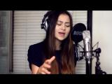 девушка красиво спела, классный голос, круто поет, талант