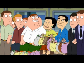 Family Guy - 1311 - Encyclopedia Griffin - Asian Oldmen in a Subway