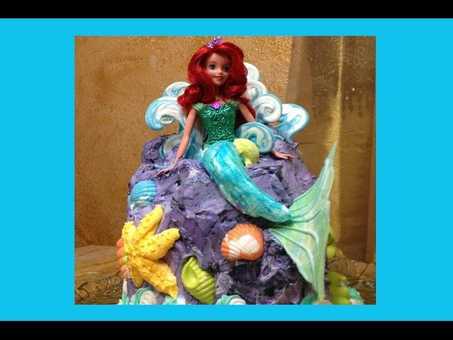Barbie Doll Cake Cake Decorating