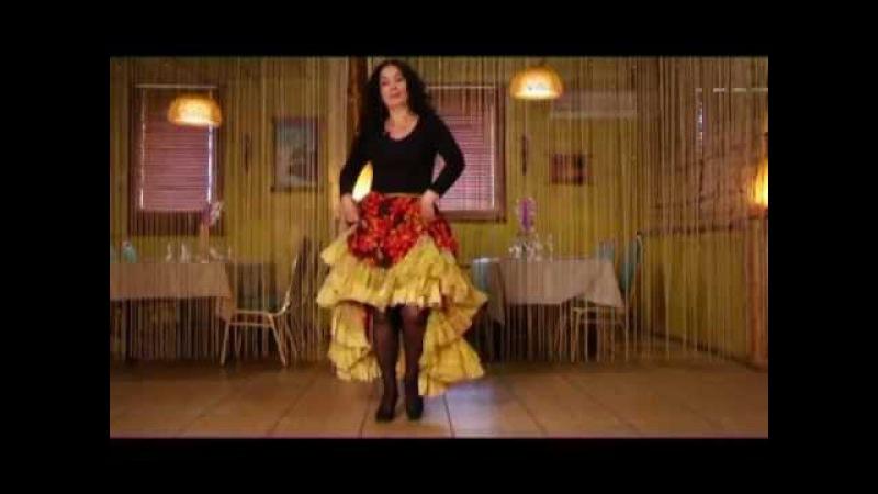 Уроки цыганского танца Венеры Ферарь №7 (gipsy dance lesson)
