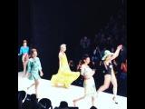 "JULIA on Instagram: it's a very hot Russian fashion show @vika_smolyanitskaya_official 💜#love💗#love💛#love"""