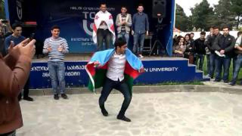Tbilisi Open University Super lezginka Azerbaycan ogullari