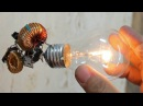 Free Energy Light Bulb TRICK. I INSIST, TRICKKKKK!