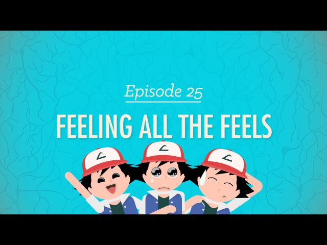 Feeling All the Feels Crash Course Psychology 25